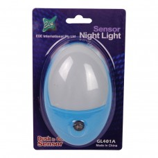 LED Sensor Night Light Blue 0.5W